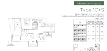 marina-one-residences-floor-plan-1br-Type1Cs-singapore